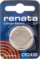 Фото - Аккумуляторная батарейка Renata 1xCR2430