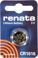 Фото - Аккумулятор / батарейка Renata 1xCR1616