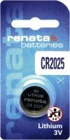 Фото - Аккумулятор / батарейка Renata 1xCR2025