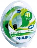 Фото - Автолампа Philips EcoVision H1 2pcs