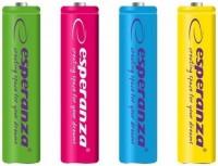 Аккумуляторная батарейка Esperanza  4xAA 2000 mAh