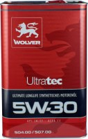 Моторное масло Wolver UltraTec 5W-30 1L
