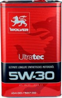 Моторное масло Wolver UltraTec 5W-30 4л