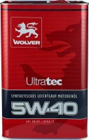 Моторное масло Wolver UltraTec 5W-40 4л