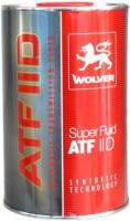 Трансмиссионное масло Wolver Super Fluid ATF IID 1L