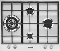 Фото - Варочная поверхность Smeg PX164L нержавеющая сталь