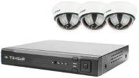Комплект видеонаблюдения Tecsar IP 3DOME LUX