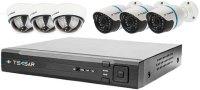 Комплект видеонаблюдения Tecsar IP 6OUT LUX MIX