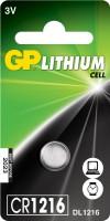 Аккумуляторная батарейка GP 1xCR1216