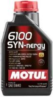 Моторное масло Motul 6100 Syn-Nergy 5W-40 1л