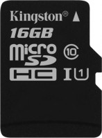 Карта памяти Kingston microSDHC Canvas Select 16Gb