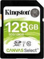 Карта памяти Kingston SDXC Canvas Select 128Gb