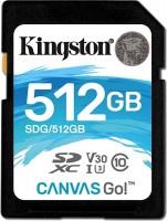 Карта памяти Kingston SDXC Canvas Go! 512Gb