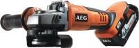 Шлифовальная машина AEG BEWS 18-125 X LI-402C