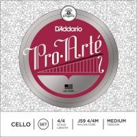 Струны DAddario Pro-Arte Cello 4/4 Hard