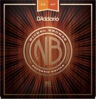 Струны DAddario Nickel Bronze 10-47
