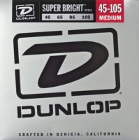 Струны Dunlop Super Bright Steel Bass 45-105