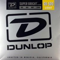 Струны Dunlop Super Bright Nickel Wound Bass 40-100