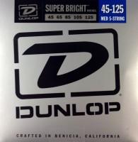 Струны Dunlop Super Bright Nickel Wound 5-String Bass 45-125