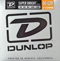 Струны Dunlop Super Bright Nickel Wound 5-String Bass 40-120