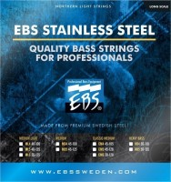 Струны EBS Stainless Steel 5-String 45-128