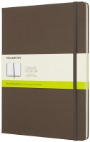 Блокнот Moleskine Plain Notebook Extra Large Brown