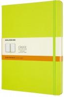 Блокнот Moleskine Ruled Notebook Extra Large Lime