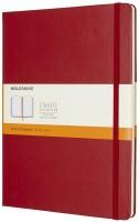 Блокнот Moleskine Ruled Notebook Extra Large Red