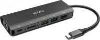 Картридер/USB-хаб WiWU Adapter H1 Plus