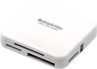 Картридер/USB-хаб Power Plant KD0055R114