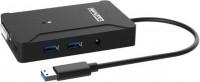 Картридер/USB-хаб STLab U-1100