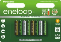 Фото - Аккумуляторная батарейка Panasonic Eneloop Botanic 8xAAA 750 mAh