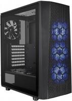 Фото - Корпус (системный блок) Thermaltake Versa J24 Tempered Glass RGB Edition черный