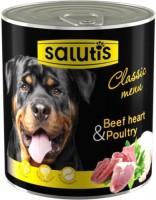 Фото - Корм для собак Salutis Classic Menu Beef Heart/Poultry 0.36 kg