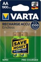 Фото - Аккумулятор / батарейка Varta Rechargeable Accu Endless  2xAA 1900 mAh