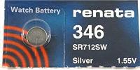 Аккумуляторная батарейка Renata 1x346