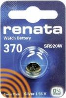 Фото - Аккумулятор / батарейка Renata 1x370