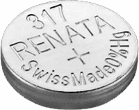 Аккумуляторная батарейка Renata 1x317