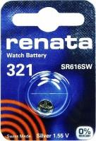 Аккумуляторная батарейка Renata 1x321