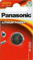 Аккумуляторная батарейка Panasonic 1xCR2012