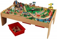 Фото - Автотрек / железная дорога KidKraft Waterfall Mountain Train Set and Table 17850