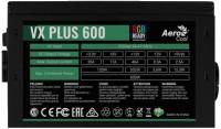 Блок питания Aerocool Value Plus RGB VX Plus 600 RGB