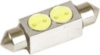 Автолампа Ring High Power LED White C5W-38 2pcs