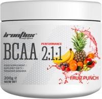 Фото - Аминокислоты IronFlex BCAA 2-1-1 200 g