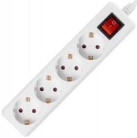 Сетевой фильтр / удлинитель 2E U04ESM3 3м белый