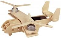 Фото - 3D пазл Robotime Aircraft V22