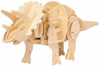 Фото - 3D пазл Robotime Power Control Triceratops