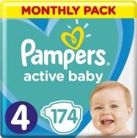 Подгузники Pampers Active Baby 4 / 174 pcs