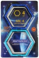 Конструктор Magnikon Hexagon 4 Pieces MK-4-6U