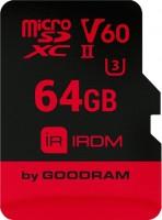 Фото - Карта памяти GOODRAM microSDXC IRDM V60 UHS II U3 64Gb